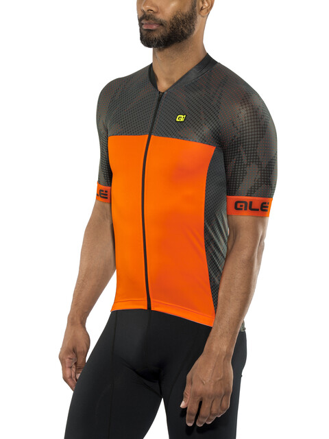 Alé Cycling Formula 1.0 Ultimate Kortærmet cykeltrøje Herrer orange/sort
